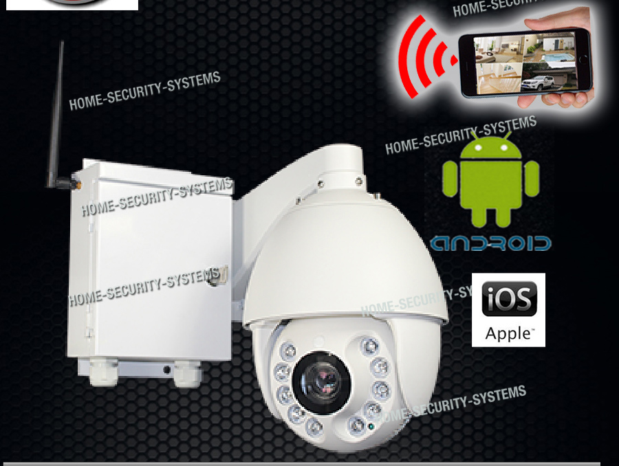 Details about 4G Wireless Security Camera PTZ 18XOptical Zoom GSM Farm Live  View Outdoor 3G