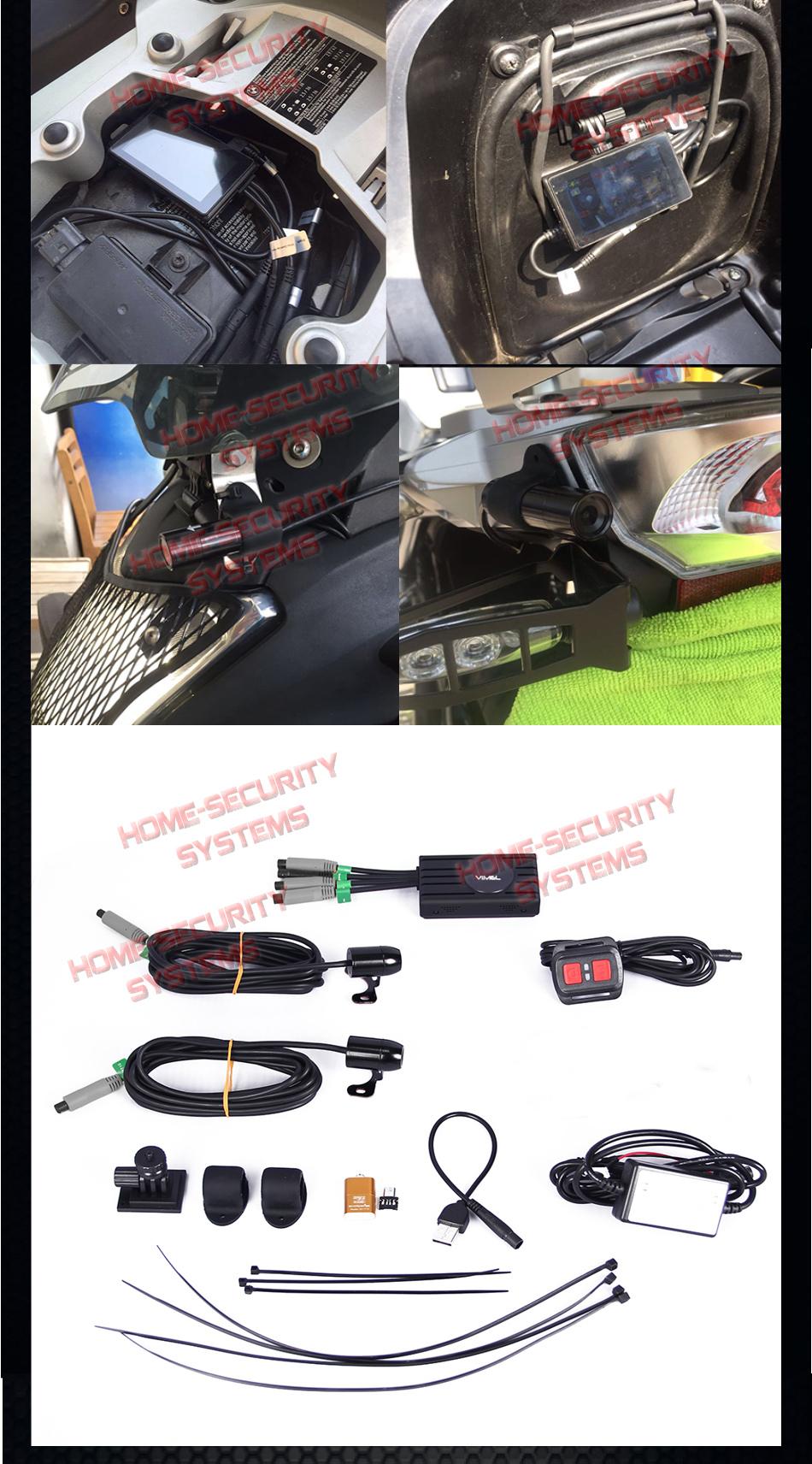 8a1201108ab5 Bike Camera Motorcycle 1080 Twin Motorbike Car Waterproof Hardwired ...