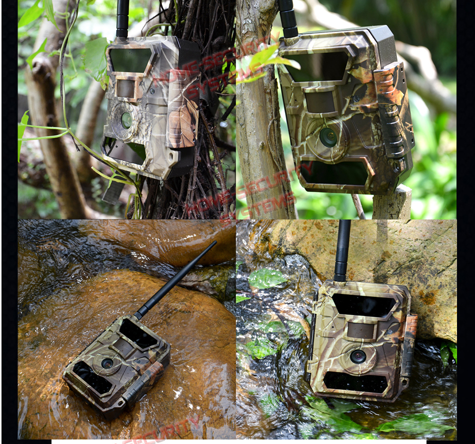 3g Trail Camera Wireless Surveillance Security Cam Scout