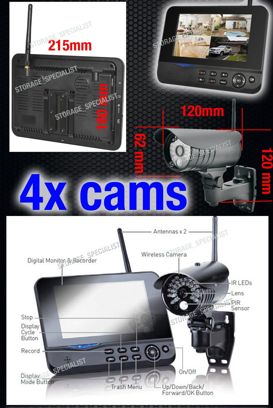 Diy Outdoor Security Cameras Wireless Ip Cctv Home Video