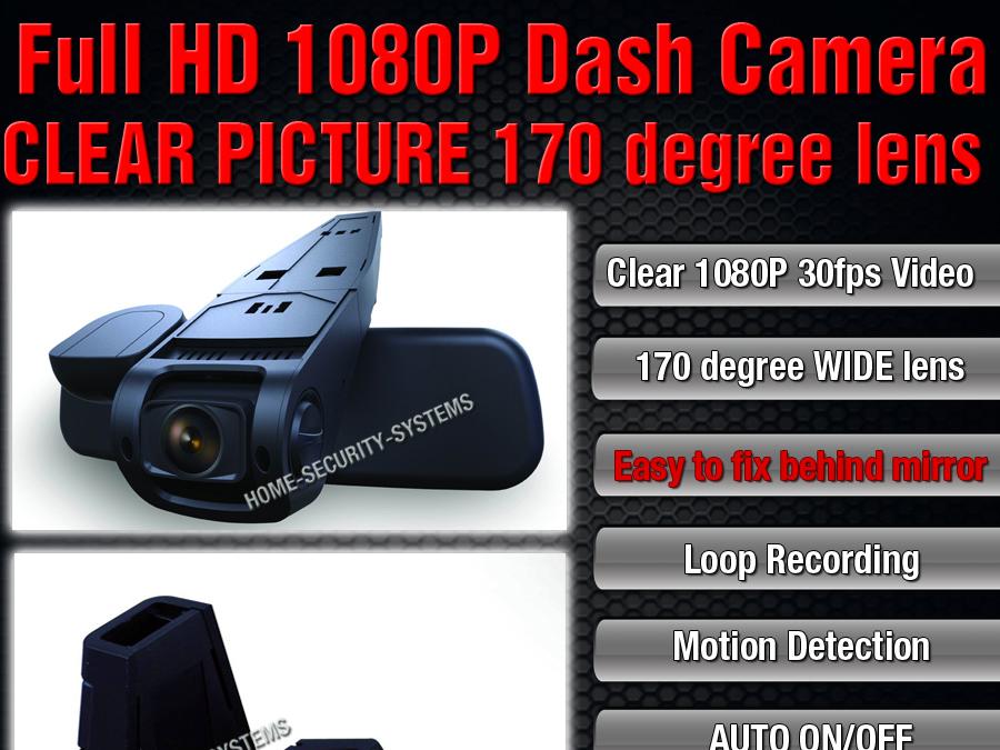 DashCam In Car Cam B40 A118 V.2 Backup 1080P Crash Truck Blackbox Security