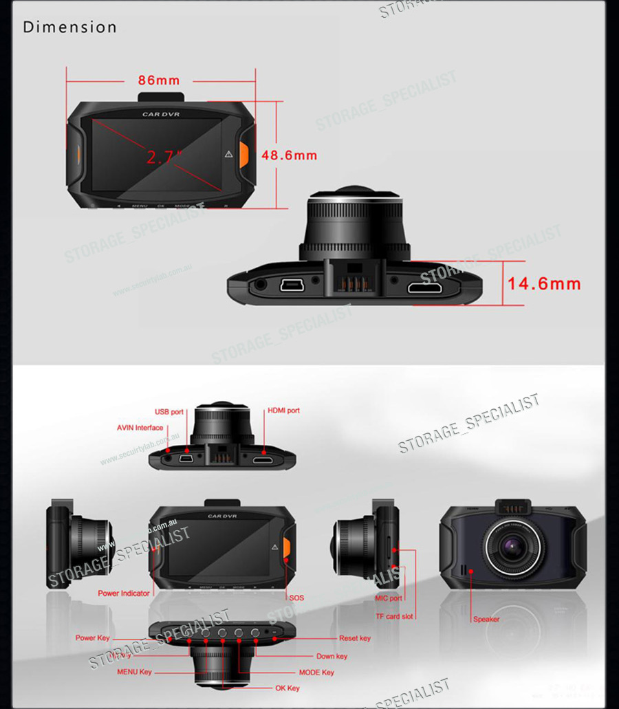 dash camera ambarella in car security cam gps a7 backup truck cameras blackbox. Black Bedroom Furniture Sets. Home Design Ideas