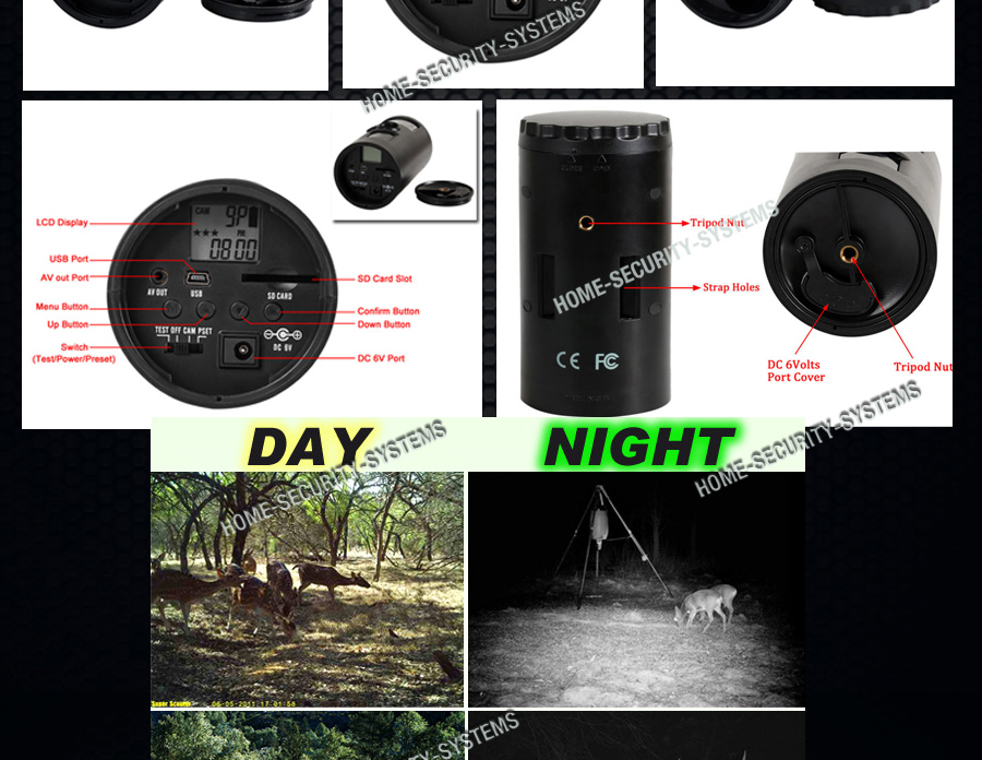 Trail camera wireless surveillance security cam scout for Security camera placement software