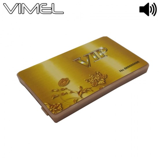 80 Hours Spy Credit Card Voice Recorder Activation