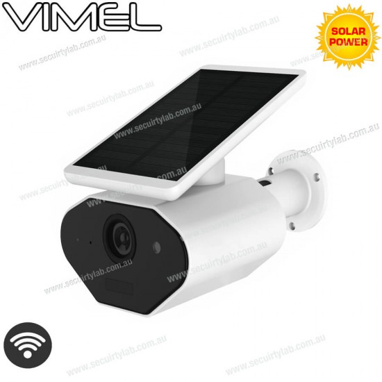24/7 Wireless Security Camera Remote View with Solar Panel