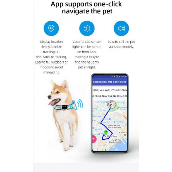 4G Dog GPS tracker Cat Tracking Device Australia