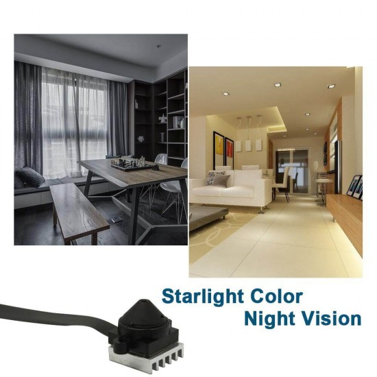 Wireless Spy Camera with Night Vision for Car Home