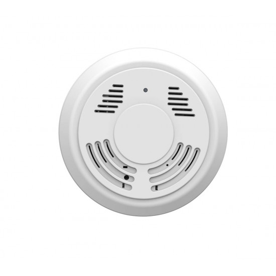 Long Battery Life Wireless Spy Smoke Detector Camera