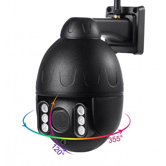 Outdoor 4G WIFI IP 5.0Mpx 2K Security Camera