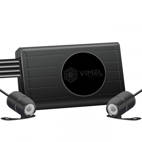 Dual Motorbike Camera WIFI GPS Tracking