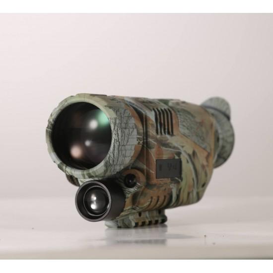 Digital Camouflauge Monocular IR Night Vision Camera 5X