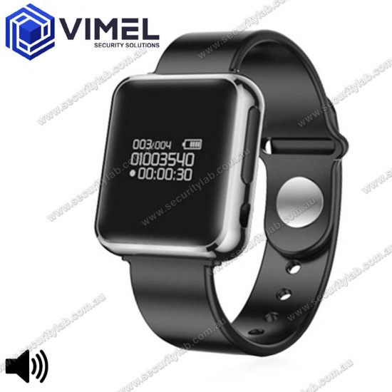 Digital Discrete Watch Voice Recorder for Anti-Bullying and Evidence