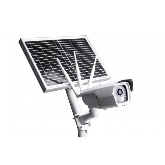 4G Cloud Security Camera SIM card Battery Operated Solar Power