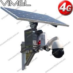 Construction Camera PIR sensor 4G SIM card Solar powered