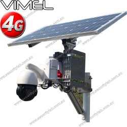 4G Security Camera 36 X Optical Zoom Solar PTZ for Construction sites and farms