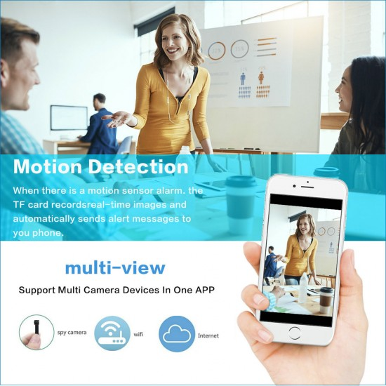 Mini Wireless Hidden Camera motion activated
