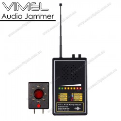 Professional Spy Camera Detector Audio Jammer Lens Finder