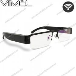 Wireless WIFI Live Stream Spy Glasses Camera