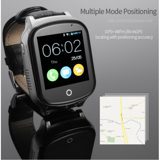 Kids GPS Watch Tracker with camera