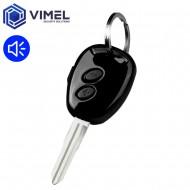 Hidden voice recorder keyring car remote control