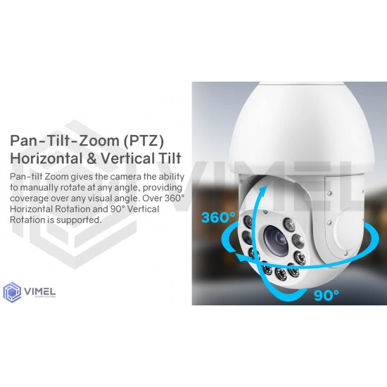 4G Solar Super Night Vision Security Camera 20X