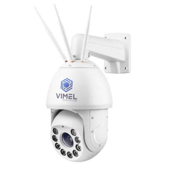 4G Super Laser Night Vision Security Camera 20X