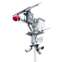 360 Degree 4G Construction Alarm Camera ULTRA HD 4K