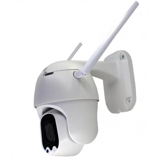 Solar Powered 4G WIFI Security Outdoor PTZ Camera