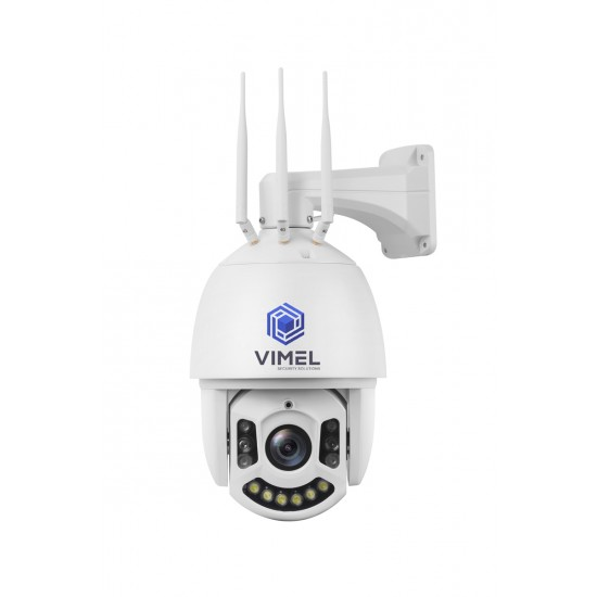 Professional 4G Security PTZ Camera 30X Optical Zoom
