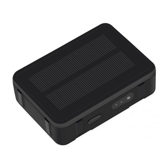 4G Solar Powered GPS Tracker Remote Live Listening