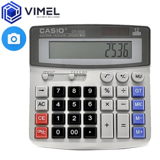 Portable Spy Calculator Hidden Office Evidence Proof Camera