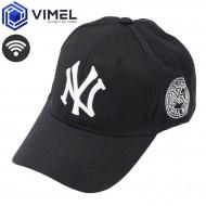 Wireless Spy Head Cap WIFI Camera Hidden Wearable Device