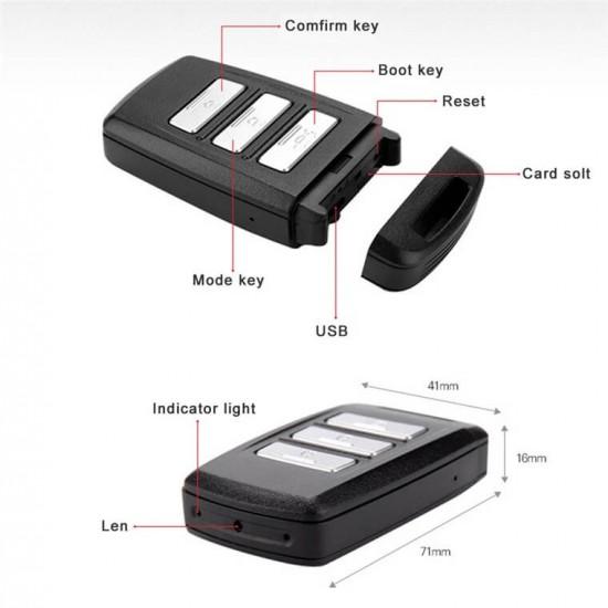 Wireless Spy Car Key Camera ULTRA HD 4K