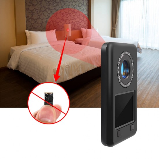 Spy Camera View Finder Detector LED IR Night Vision Lens