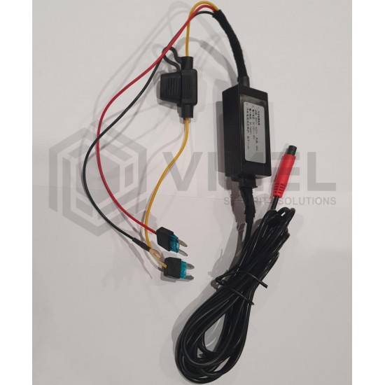 Dual Dash WIFI Camera OBD2 Super Capacitor with Parking Mode