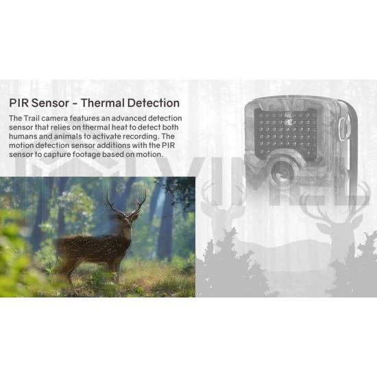 Hunting Trail Camera Ultra HD 4K 32MP Image Sensor