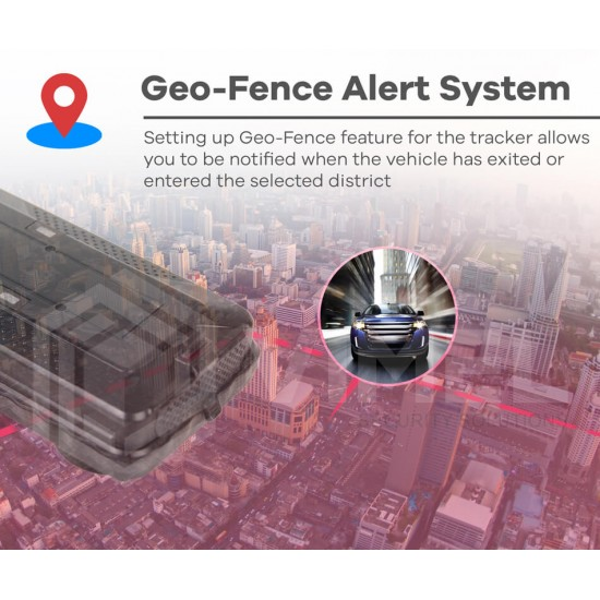 4G GPS Tracker Live Remote Monitoring 5000mAh Magnetic Anti-Theft Vehicle Tracking