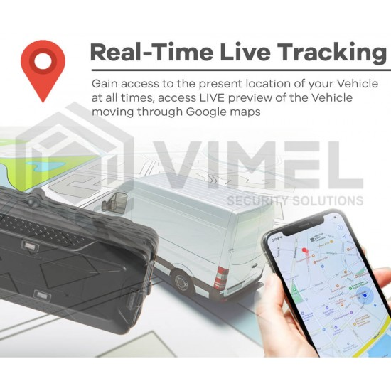 4G GPS Real Time Tracker Remote Monitoring 10000mAh Magnetic Anti-Theft Vehicle Free Tracking