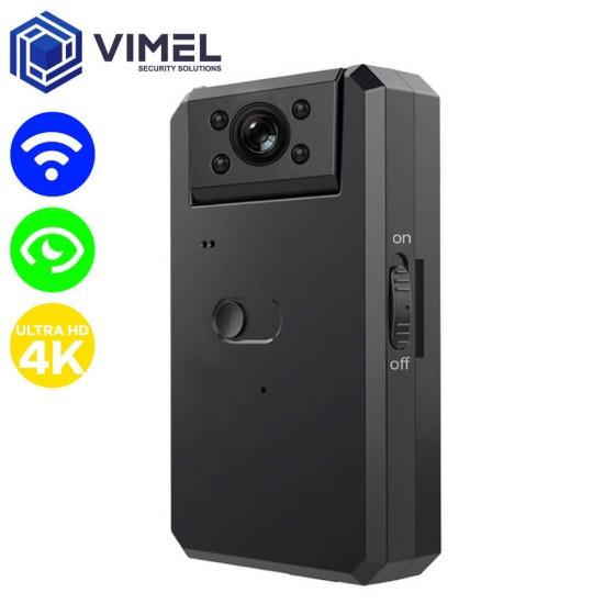 Wireless Spy LIVE Stream Camera ULTRA HD 4K