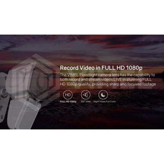 IP WIFI Security Flood Light Camera PIR Full Color Night Vision