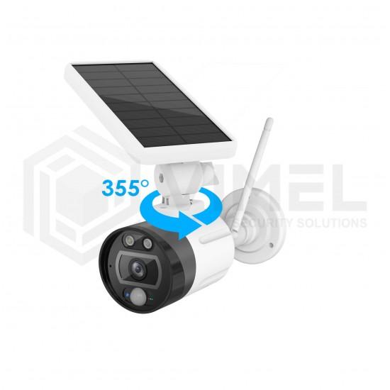 IP Solar Panel Security WIFI Cloud Camera