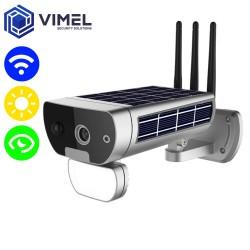 IP WIFI Flood Light Solar Powered Security Outdoor Camera