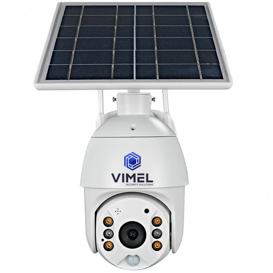 Wireless Security Camera PTZ Solar Powered WIFI
