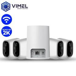 Wireless WIFI Alarm Security Camera System