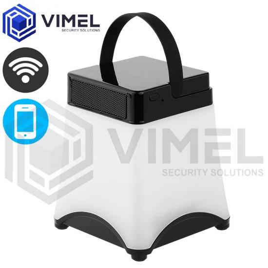 Home Spy LED Lamp WIFI Security Camera