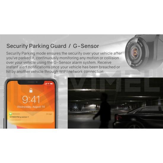 Professional 24/7 Dual Dash Camera Security Parking Guard