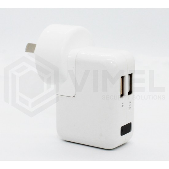 Home Hidden Wall Power Adapter Spy Security Camera