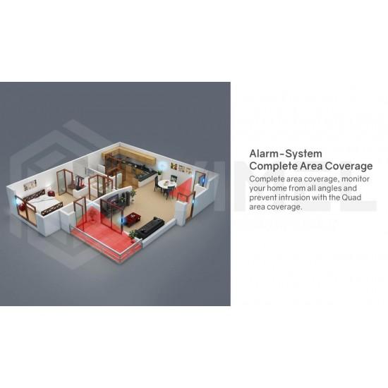 Wireless 4G Alarm WIFI Home System Smoke Detector