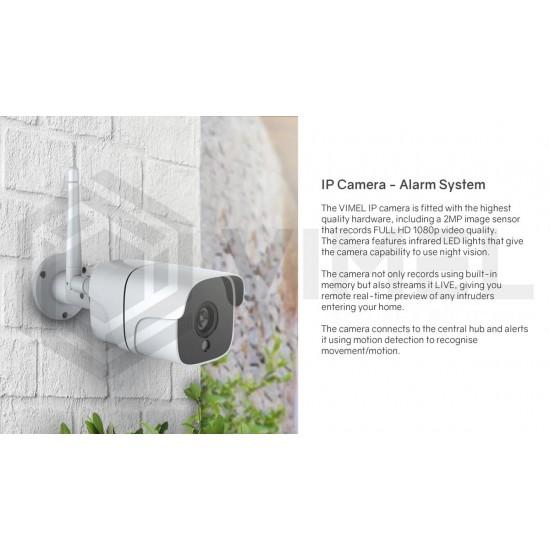 Wireless 4G Alarm Home System WIFI Security Camera