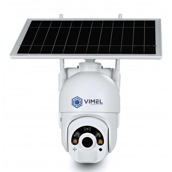 4G Solar Powered PTZ Security Camera